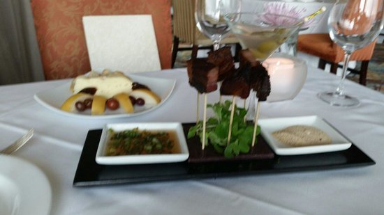 Paragon: Cheese plate and the bacon, mouth watering