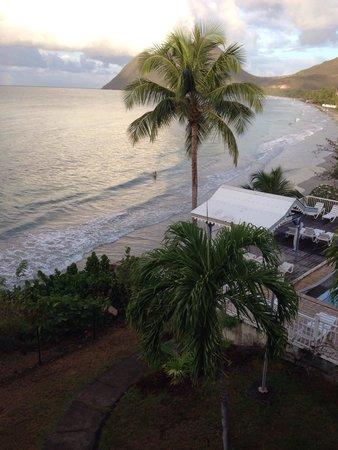 Diamant Beach: La vue de notre chambre