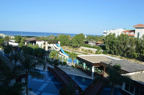 Sunis Evren Beach Resort Hotel & Spa: View from room