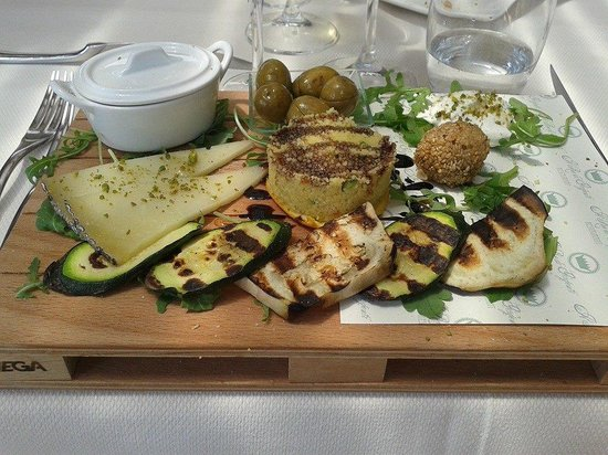 Il Re di Girgenti: Antipasto vegetariano