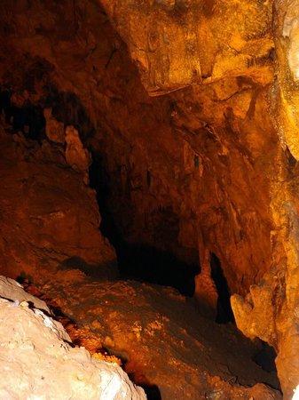 Grotte di Pastena: antro