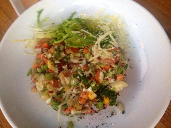 Bar Acuda : Chopped salad is original and very tasty