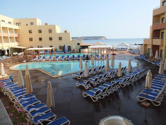LABRANDA Riviera Premium Resort & Spa : Vu du balcon de ma chambre