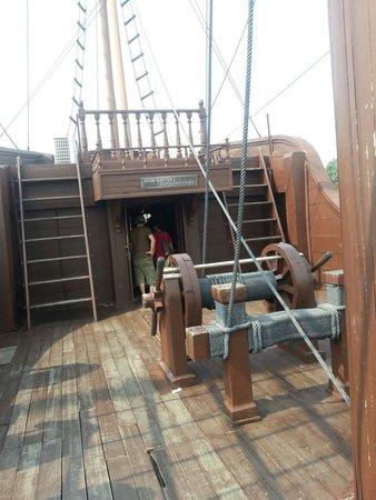 Portuguese Square: Captain cabin