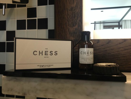 The Chess Hotel: Produits d'acceuil