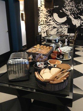 The Chess Hotel: Le buffet petit déjeuner