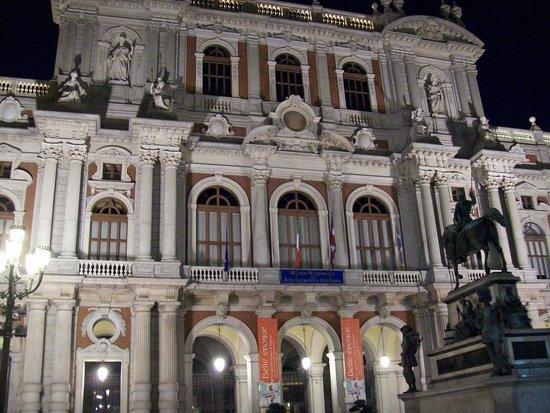 Piazza San Carlo notturna
