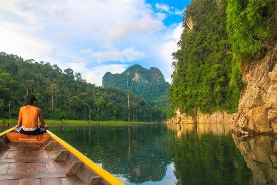 Khao Sok Smiley Bungalow: Afternoon safari