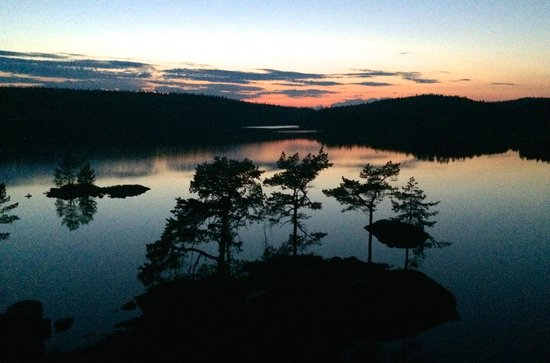 Roemskog Spa & Resort : Late evening view from balcony