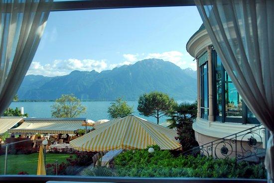 Eden Palace au Lac : вид из окна