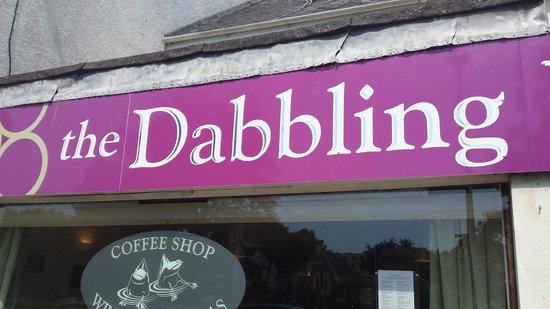 'The Dabbling Duck', 25 The Strand, Dawlish-cae/bar front