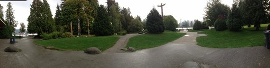 One of Stanley Park Entrance