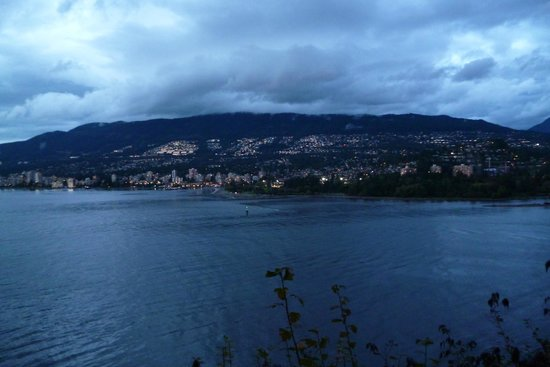 Stanley Park: North Vancouver View
