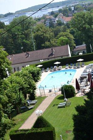 Hôtel-Club Cosmos : vue de la piscine