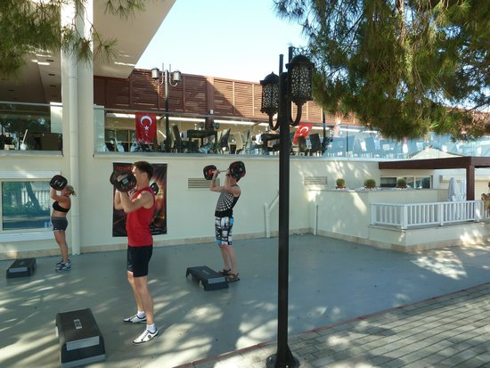 Paloma Oceana Resort: body pump