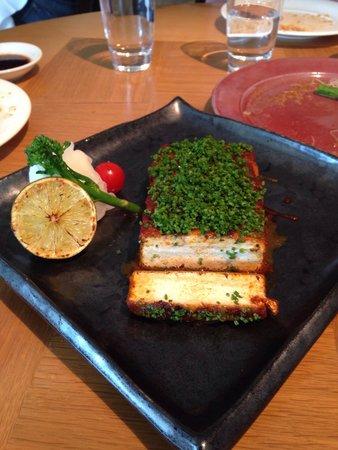 Nobu London: Excellent Tofu