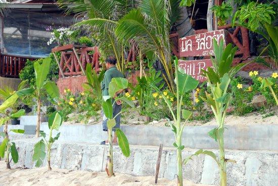 Bill Resort: вид с пляжа на отель