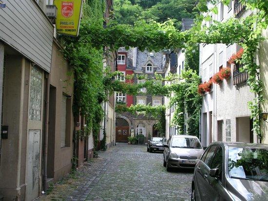 Hotel Gonzlay: Bild från gata i Trarbach