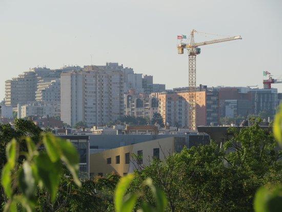 Ibis Paris La Villette Cité des Sciences 19eme : uitzicht van af 5 e verdieping