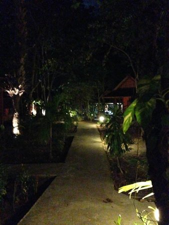 Lanta Pearl Beach Resort : BY night