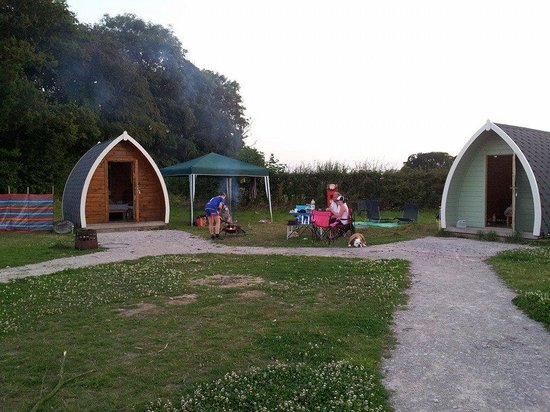 Stanley Villa Farm Camping: Our Pods