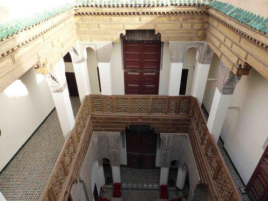 Hotel & Spa Riad Dar Bensouda: vue intérieur depuis la terrasse du riad
