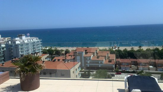 Hotel Catalonia: Вид с 10 этажа