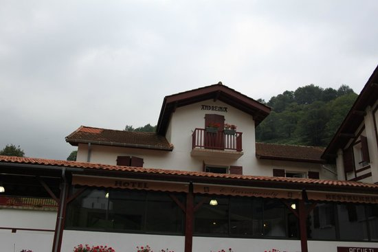 Hotel Andreinia: façade du logis