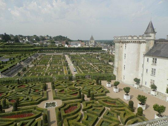 Château de Villandry : Villandy chateau and gardens