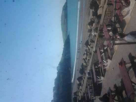 Parkdean - Challaborough Bay Holiday Park: view of beach from restaurant