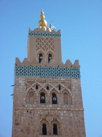 Mosquée et minaret de Koutoubia : Exquisite minaret