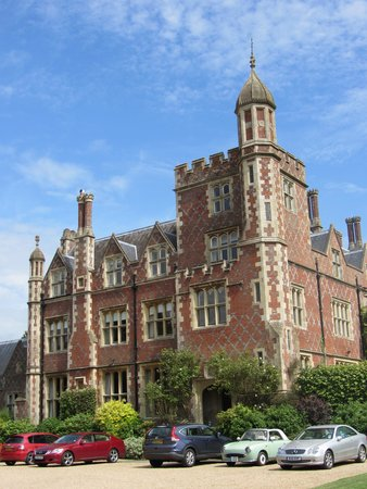 Horsted Place: Front of the hotel