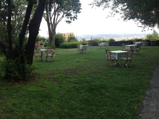 Villa Le Rondini : le parc