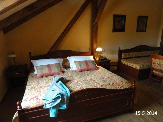 Romantic Hotel Mlyn Karlstejn: Room 207