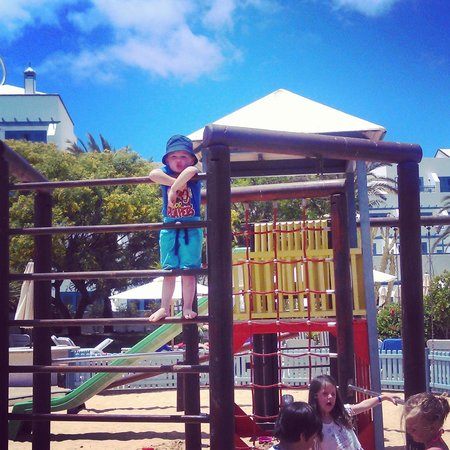 Seaside Los Jameos Playa: playground at kids club