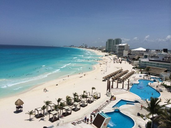 Krystal Cancun : View from our room