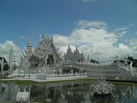 Wat Rong Khun : El templo blanco