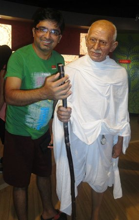 Madame Tussauds Bangkok: Wax Museum with Gandhi