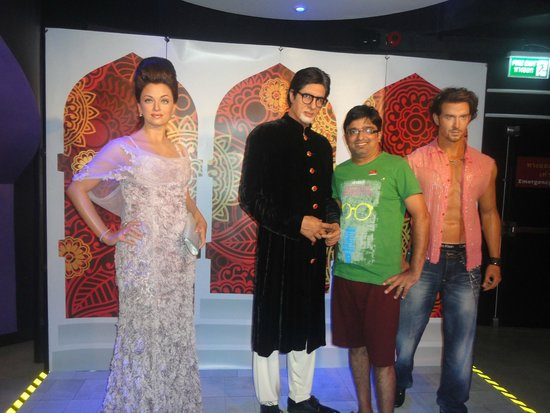 Madame Tussauds Bangkok: with Bachan Family