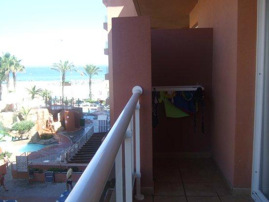 Playaluna Hotel: Terraza