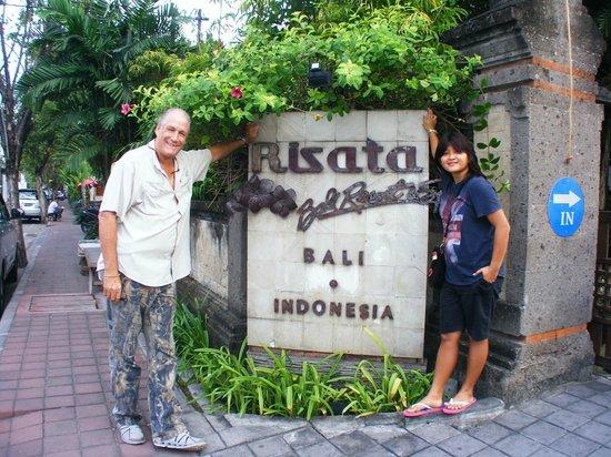 Risata Bali Resort & Spa: The Entrance
