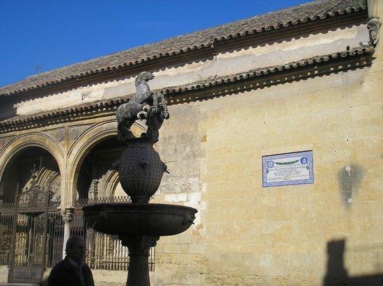 Posada del Potro: Plaza del Potro.