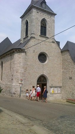 Old Town of Durbuy: Church in Durbuy