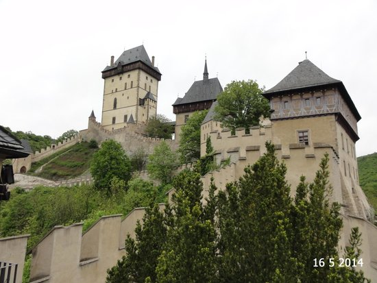 Karlstejn Castle: From the Well Tower