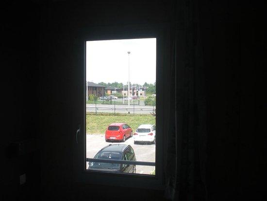 Fasthotel Dunkerque : vista dalla camera