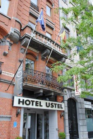 Floris Ustel Midi: вход в отель