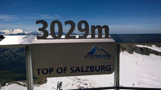 Kitzsteinhorn : At the top
