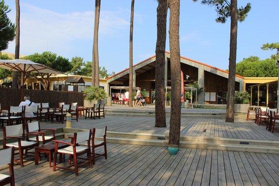Club Med La Palmyre Atlantique : La réception depuis l'intérieur du club