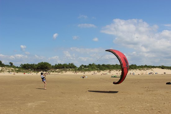 Club Med La Palmyre Atlantique : Initiation au kite