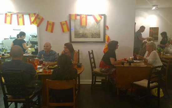 Just Vintage Tea Room Cafe: Saturday 26th July 2014 Spanish Evening